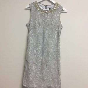 Adrianna Papell lace sleeveless dress size 4